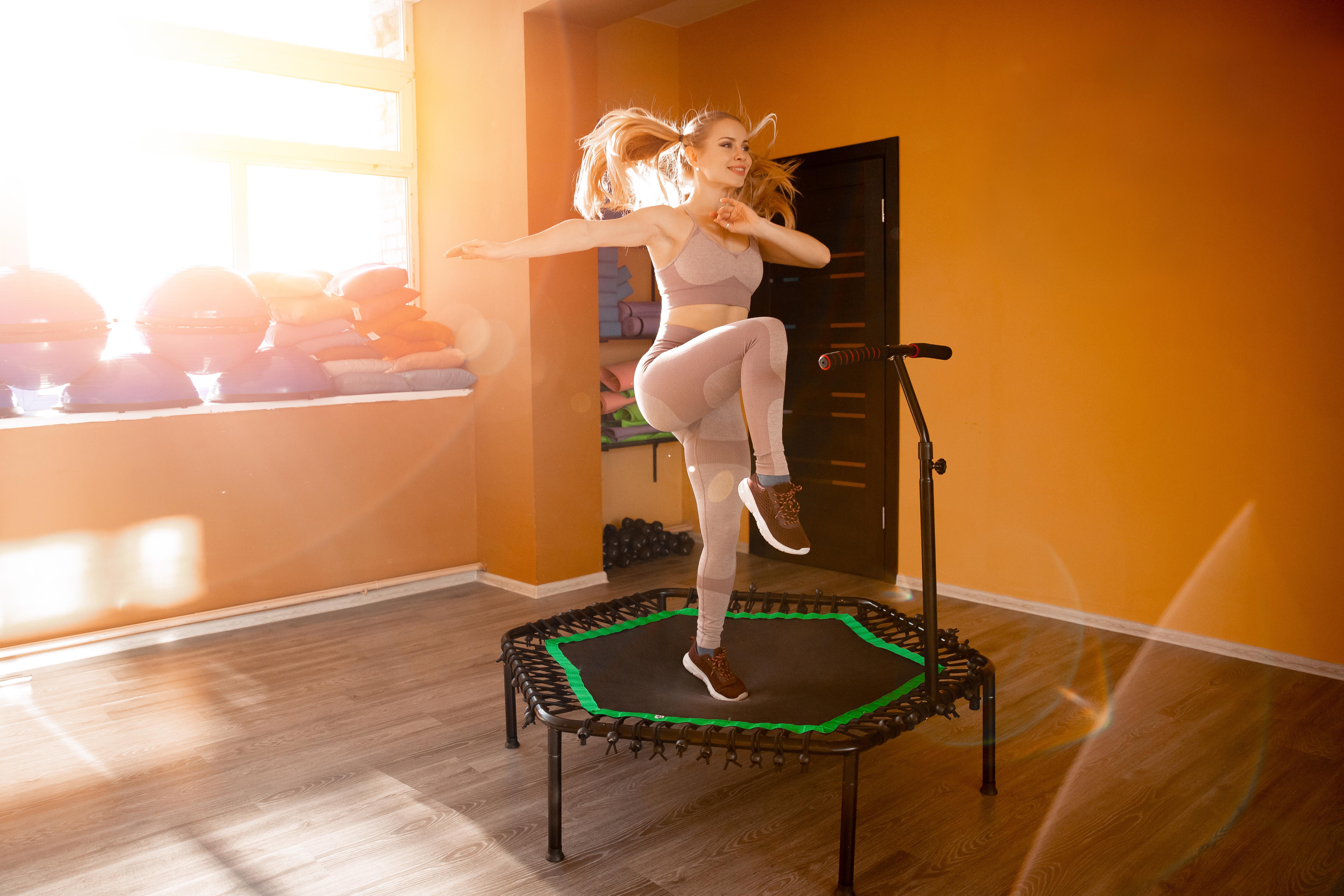 Jumping Trampolin